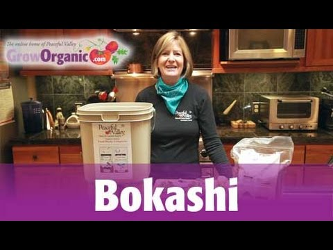 MAKE COMPOST THE BOKASHI WAY