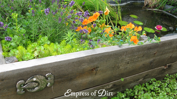 How To Create A Garden Pond In A Raised Bed