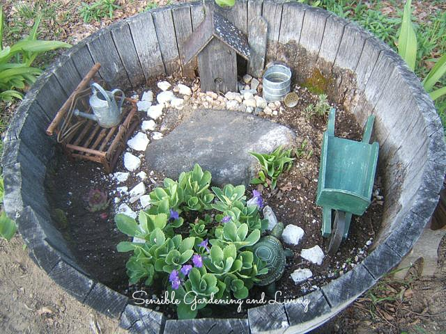 17 Ways to Use a Barrel as a Planter